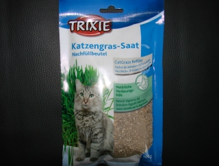 Trixi Katzengras Saat 100g Nachfüllpack