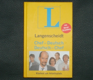 Originalbild zum Tauschartikel Stromberg Chef-Deutsch Deutsch-Chef