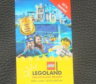 Legoland Gutschein 20% Eintritt sparen