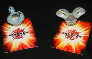 Bakugan Magnet Bälle mit Karten
