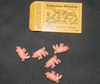 Bartl Schweine Würfeln Schweinerei Mini