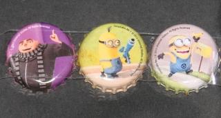 DESPICABLE ME Million Minions Buttons