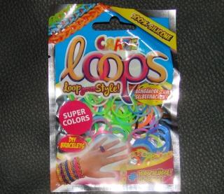 Loops Gummi Ringe Loom  Craze