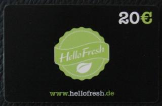 HelloFresh.de Gutschein Code 20 Euro