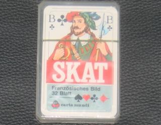Skatkarten Blatt Skat Karten Doppelkopf