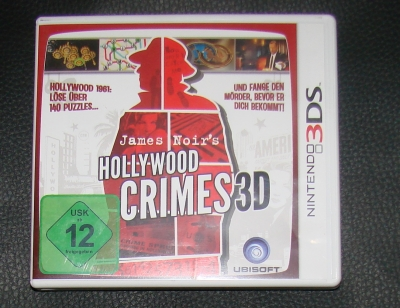 Originalbild zum Tauschartikel James Noirs Hollywood Crimes 3D 3DS