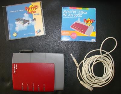 AVM Fritz!Box WLAN Router 3050 gebraucht