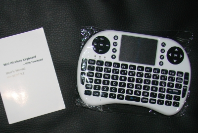 Originalbild zum Tauschartikel Wireless Mini Keyboard mit Touchpad