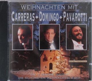 Carreras, Domingo, Pavarotti Weihnachten