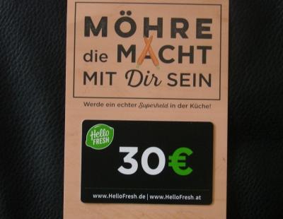 Gutschein Hello Fresh 30 Euro