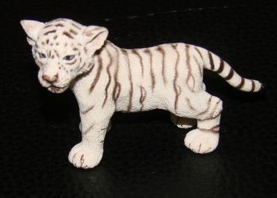Schleich 14383 Wild Life Tiger weiß
