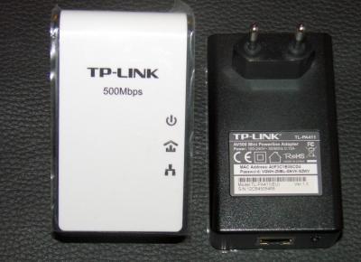 tplink stromlan 500Mbps powerline av500