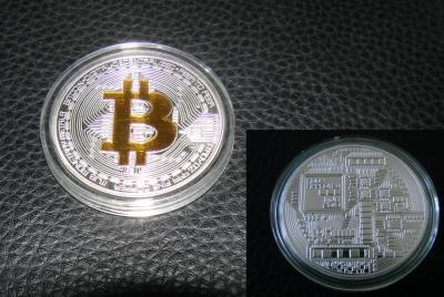 Bitcoin Münze 999 Gold Silber Coin Tale