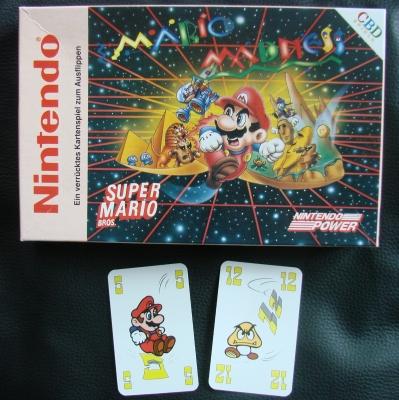 TOP Super Mario Madness Kartenspiel