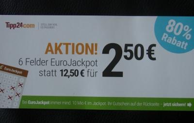 Tipp24.de Gutschein Lotto spielen