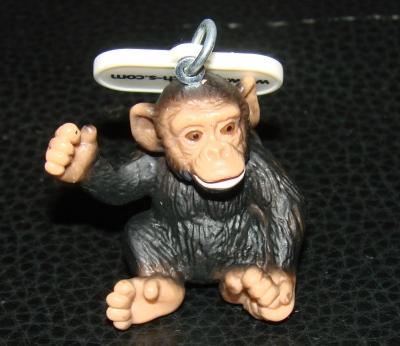 Schleich Wild Life Schimpanse Anhänger