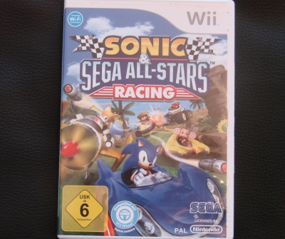 Originalbild zum Tauschartikel Sonic & SEGA All-Stars Racing Wii