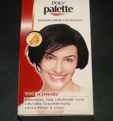 Schwarzkopf POLY Palette Schwarz 900